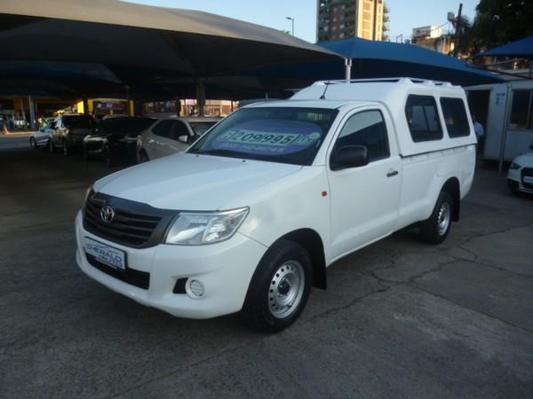 2015 Toyota Hilux 2.5 D-4d Pu Sc  Kwazulu Natal Pietermaritzburg_0