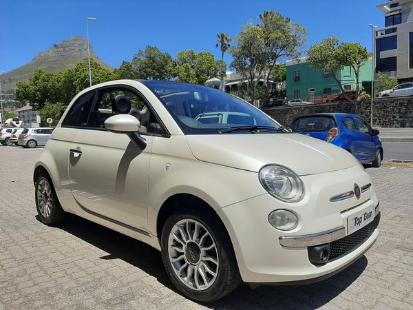 2011 Fiat 500 1.4 Cabriolet  Western Cape Cape Town_0