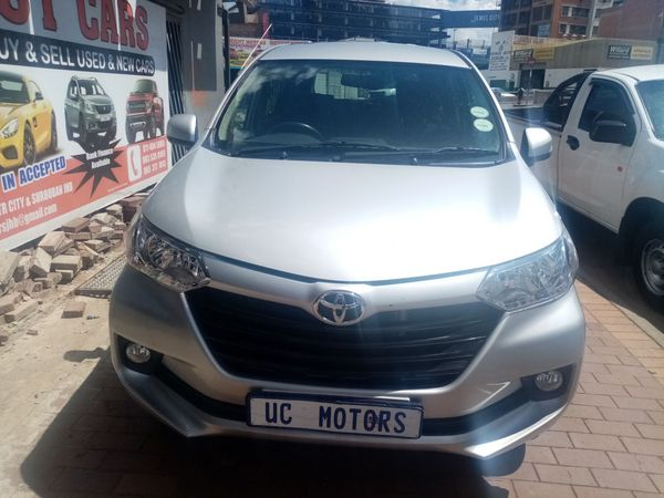 2018 Toyota Avanza 1.5 SX Gauteng Germiston_0
