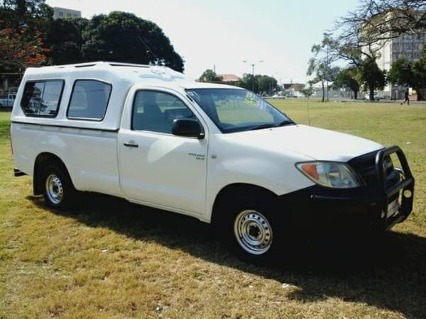 2007 Toyota Hilux 2.0 Vvt-i Pu Sc  Kwazulu Natal Durban_0