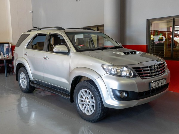 2012 Toyota Fortuner 2.5d-4d Rb  Western Cape Brackenfell_0