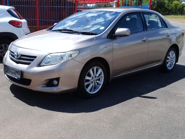 2008 Toyota Corolla 1.8 Exclusive At  North West Province Orkney_0