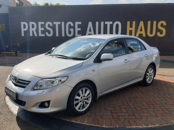 2007 Toyota Corolla 1.8 Exclusive At  Gauteng_0