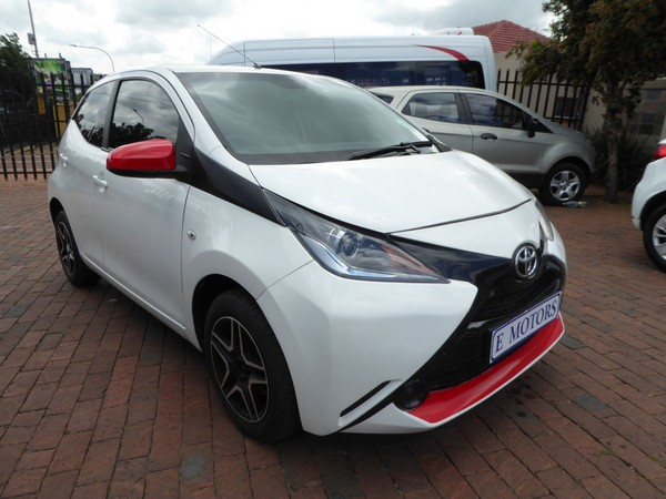 2016 Toyota Aygo 1.0 5-Door Gauteng Bramley_0