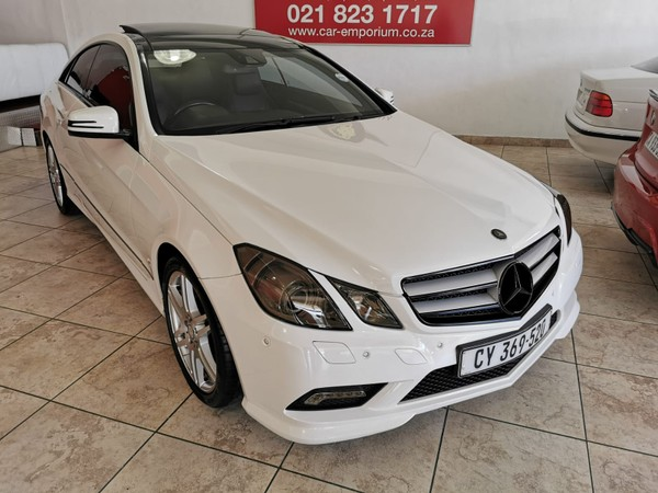2010 Mercedes-Benz E-Class E 350 Coupe  Western Cape Diep River_0