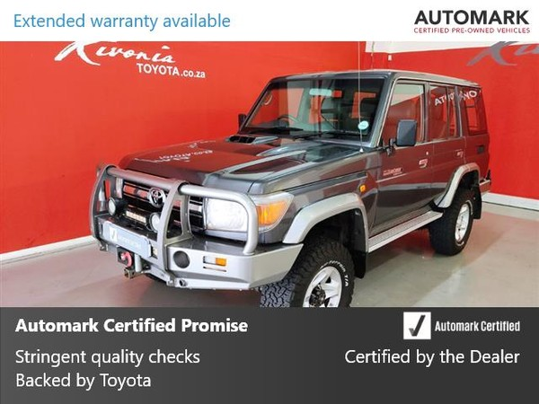 2011 Toyota Land Cruiser 76 4.2d 60th Ed Sw  Gauteng Sandton_0