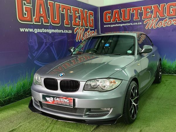 2011 BMW 1 Series 120d Coupe At  Gauteng Pretoria_0