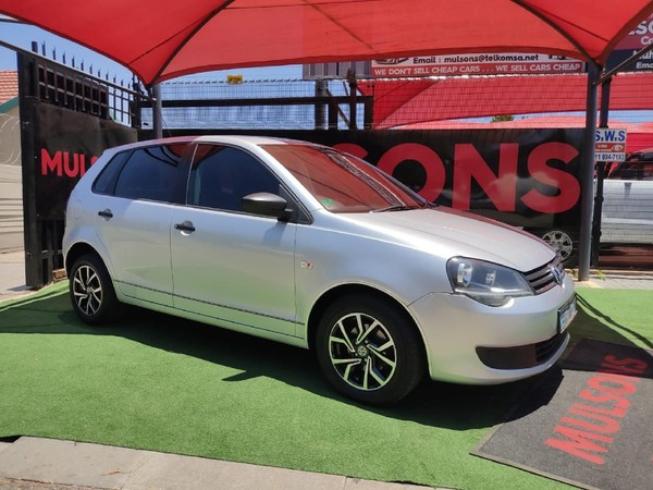 2016 Volkswagen Polo Vivo GP 1.4 Conceptline 5-Door Gauteng Boksburg_0