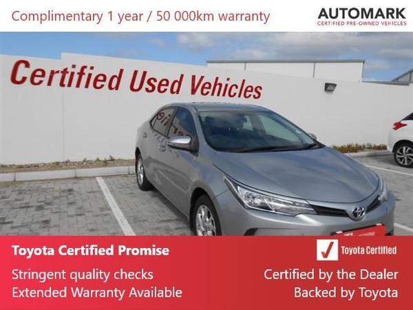 2020 Toyota Corolla Quest 1.8 Prestige Eastern Cape Port Elizabeth_0