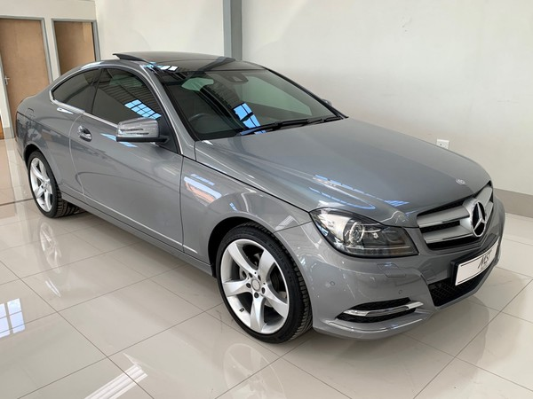 2015 Mercedes-Benz C-Class C250 Be Coupe At  Kwazulu Natal Newcastle_0