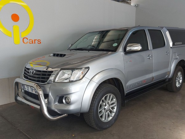 2015 Toyota Hilux 3.0 D-4D LEGEND 45 RB Double Cab Bakkie Mpumalanga Mpumalanga_0