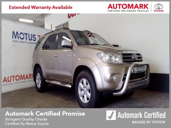 2010 Toyota Fortuner 3.0d-4d Rb  Mpumalanga Nelspruit_0