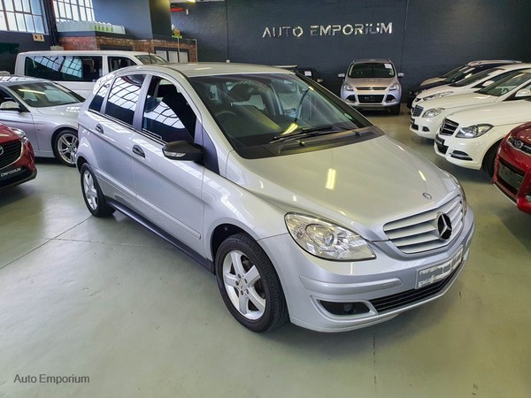 2007 Mercedes-Benz B-Class B 170 At  Western Cape Maitland_0