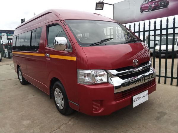 2008 Toyota Quantum 2.5 D-4d 14 Seat  Gauteng Germiston_0