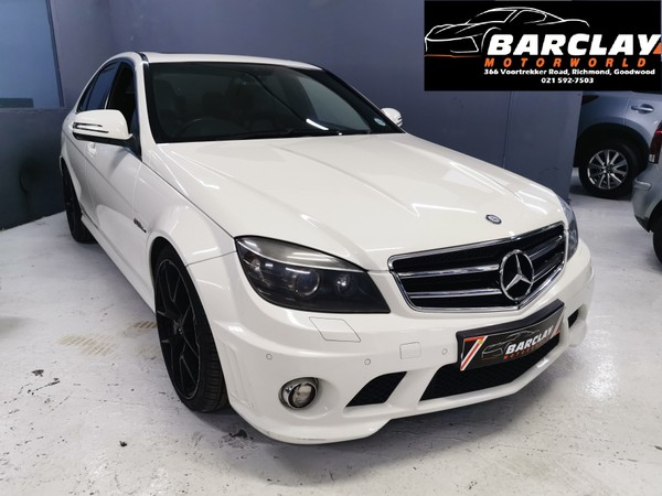 2009 Mercedes-Benz C-Class C63 Amg  Western Cape Goodwood_0