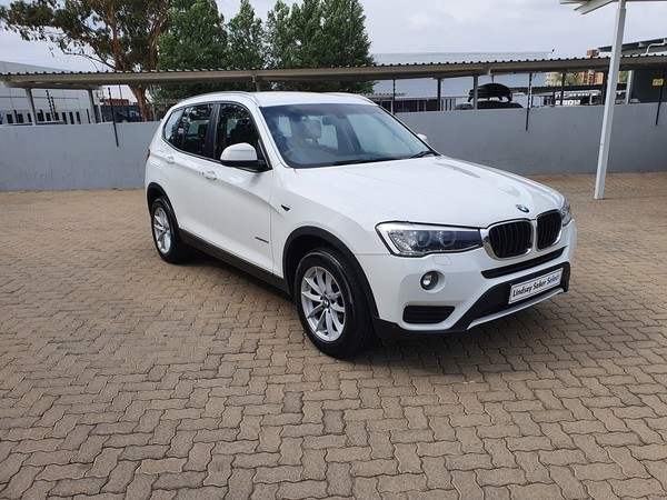 2017 BMW X3 xDRIVE20d Auto Free State Bloemfontein_0