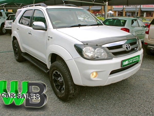 2007 Toyota Fortuner 4.0 V6 4x4  North West Province Klerksdorp_0