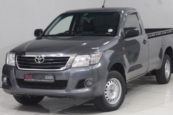 2014 Toyota Hilux 2.0 Vvti Pu Sc Manual Gauteng Nigel_0