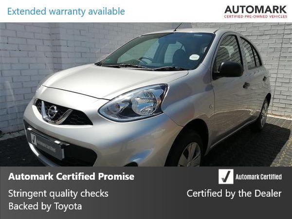 2019 Nissan Micra 1.2 Active Visia Gauteng Boksburg_0