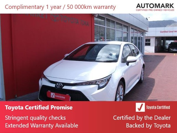 2020 Toyota Corolla 1.8 XS CVT Western Cape Tokai_0