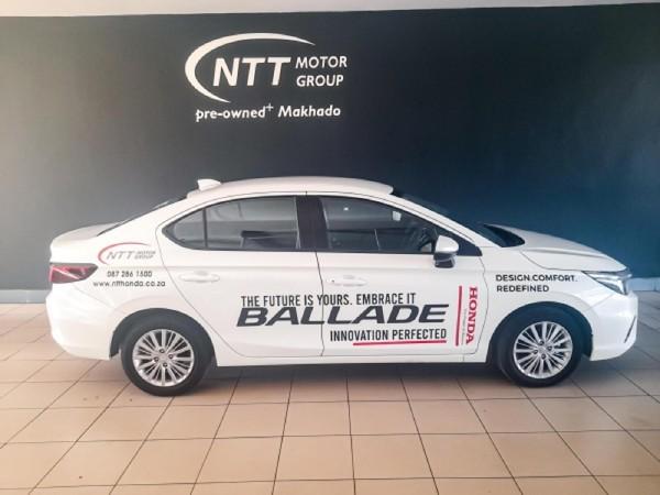 2021 Honda Ballade 1.5 Comfort CVT Limpopo Louis Trichardt_0