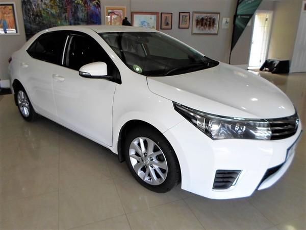 2016 Toyota Corolla 1.6 Prestige Western Cape Knysna_0