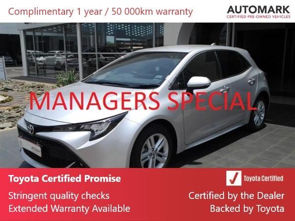 2020 Toyota Corolla 1.2T XS 5-Door Gauteng Nigel_0