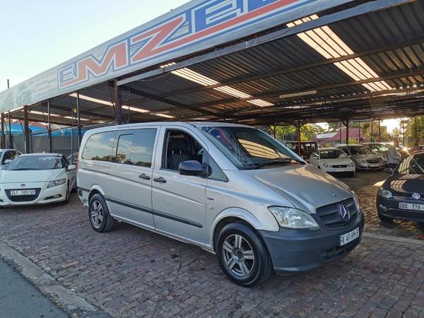 2014 Mercedes-Benz Vito 116 Cdi Crewbus  Gauteng Kempton Park_0