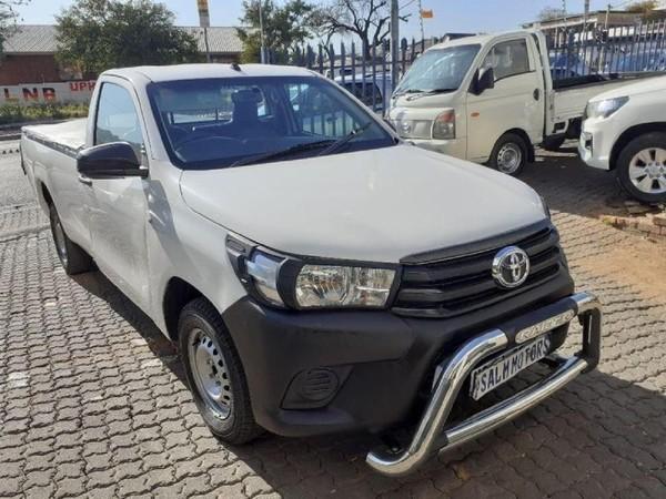 2010 Toyota Hilux 2.5 D-4d Pu Sc  Gauteng Johannesburg_0