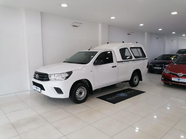 2018 Toyota Hilux 2.4 GD-6 SR Single Cab Bakkie Kwazulu Natal Durban_0