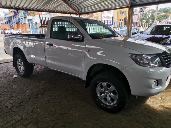 2013 Toyota Hilux 2.5 D-4d Srx Rb Pu Sc  Gauteng Jeppestown_0
