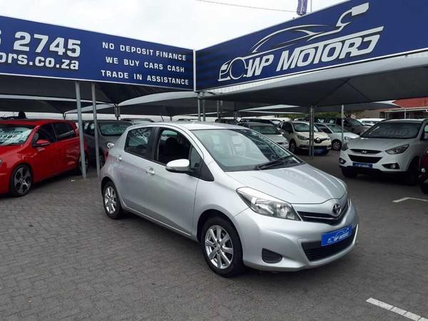 2012 Toyota Yaris 1.3 Xs 5dr  Western Cape Bellville_0