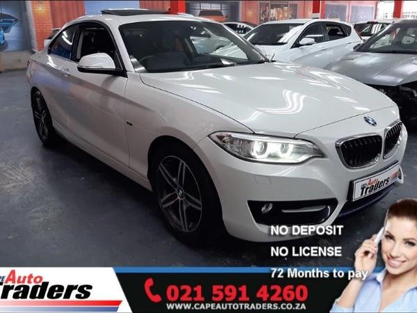 2014 BMW 2 Series 220D Sport Line Auto Western Cape Goodwood_0