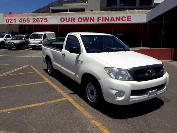 2009 Toyota Hilux 2.0 Vvti Pu Sc  Western Cape Cape Town_0