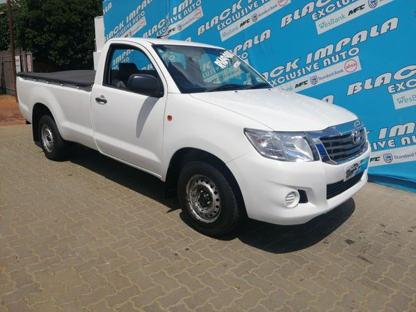 2013 Toyota Hilux 2.0 Vvti Pu Sc  Gauteng Pretoria North_0