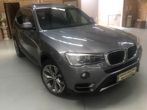 2015 BMW X3  XDrive 2.0d facelift Pan roof  19 alloy wheels Free State Villiers_0