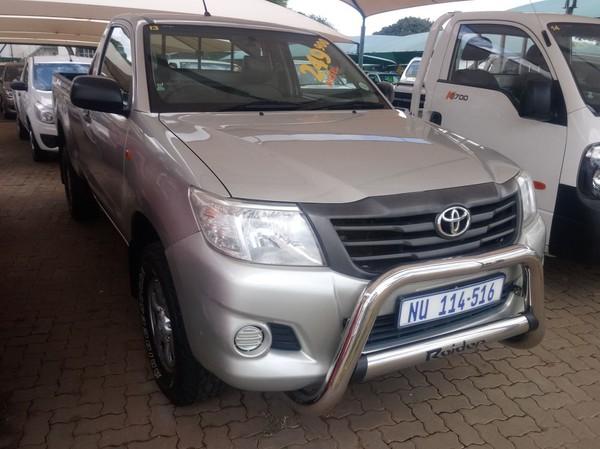 2013 Toyota Hilux 2.5 D-4d Srx 4x4 Pu Sc  Gauteng Pretoria_0
