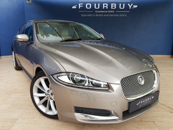 2013 Jaguar XF 2.2 D Luxury  Gauteng Four Ways_0