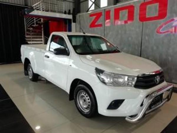2017 Toyota Hilux 2.4 GD AC Single Cab Bakkie Gauteng Kempton Park_0