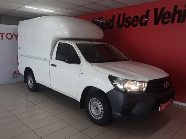 2020 Toyota Hilux 2.0 VVTi AC Single Cab Bakkie Gauteng Edenvale_0