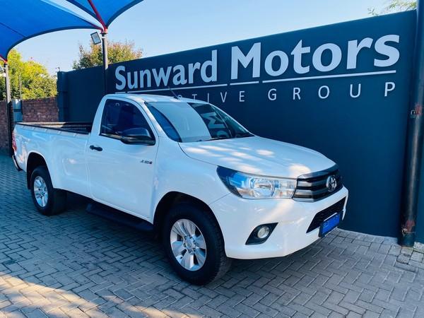 2018 Toyota Hilux 2.4 GD-6 RB SRX Single Cab Bakkie Gauteng Pretoria_0