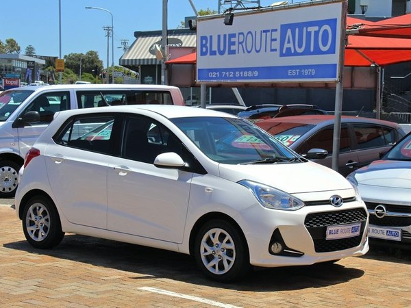 2017 Hyundai Grand i10 1.25 Motion Western Cape Cape Town_0