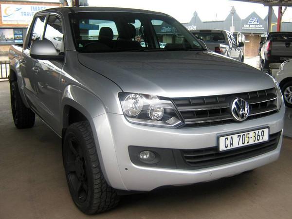 2017 Volkswagen Amarok 2.0TDi Trendline 103KW 4MOT Double cab bakkie Limpopo Polokwane_0