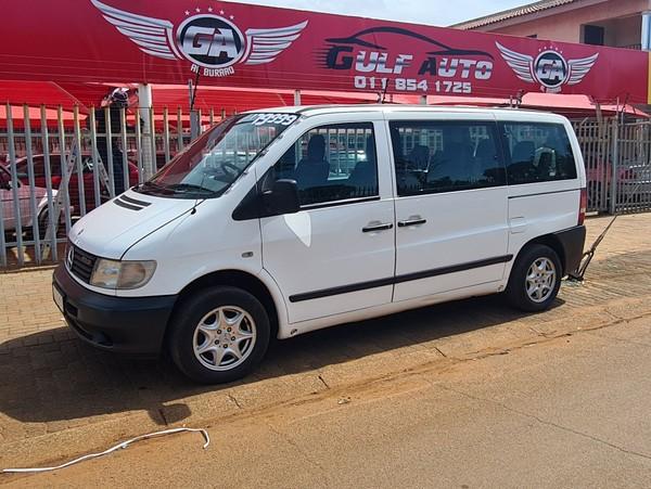 2003 Mercedes-Benz Vito 2.2 Crew Bus  Gauteng Lenasia_0