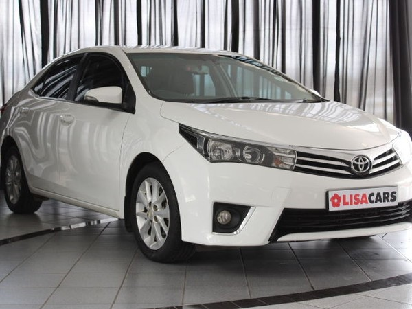 2015 Toyota Corolla 1.8 High CVT Gauteng Kempton Park_0