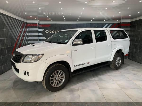 2015 Toyota Hilux 3.0 D-4D LEGEND 45 4X4 Double Cab Bakkie Gauteng Pretoria_0