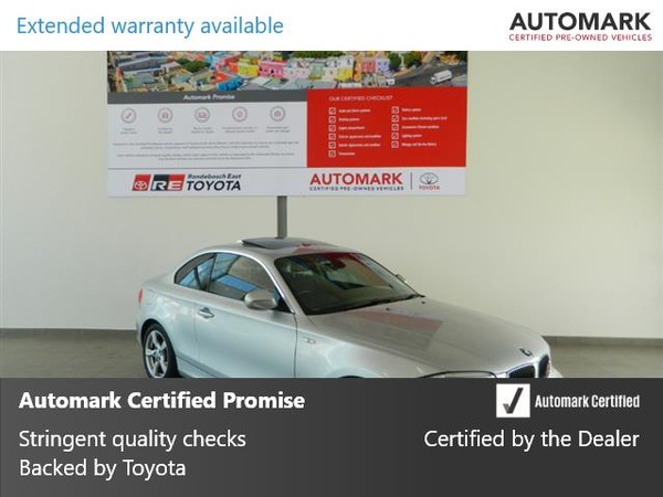 2012 BMW 1 Series 125i  At 3dr f21  Western Cape Rondebosch_0