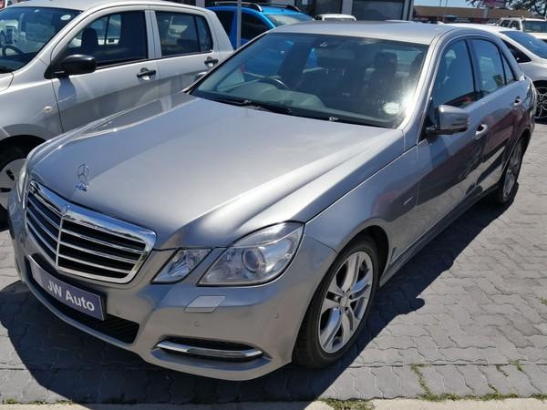 2011 Mercedes-Benz E-Class E 200 Cgi Be Avantgarde  Eastern Cape Port Elizabeth_0