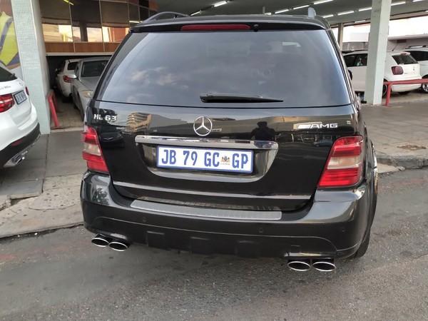 2007 Mercedes-Benz M-Class Ml 63 Amg  Gauteng Pretoria_0