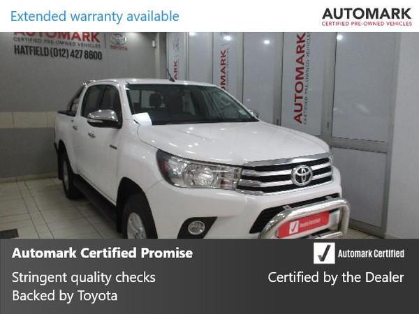 2017 Toyota Hilux 2.8 GD-6 Raider 4x4 Double Cab Bakkie Gauteng Pretoria_0